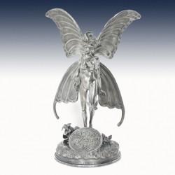"""1 x 7+ Oz Silver Statue """"Gwen the..."""