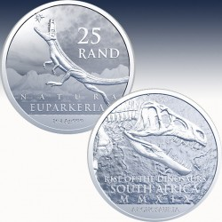 1 x 1 oz Silbermünze 25 Rand...