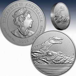 1 x 10 Oz Silbermünze 10$ Australien...