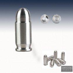 "1 x 1 Oz Silver ""Bullet .45 Caliber ACP"""