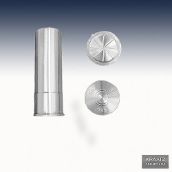 "1 x 5 Oz Silver ""Bullet 12 Gauge..."