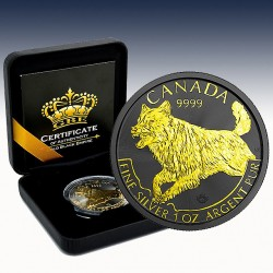 1 x 1 Oz Silber 5$ Canada Predator...