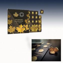 1 x 1 Gramm 0,50 $ Gold-Tafelbarren...