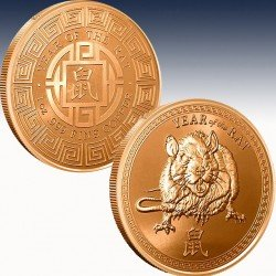 1 x 1 oz Copperround Provident Metals...