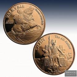 1 x 1 oz Copperround Anonymous Mint...
