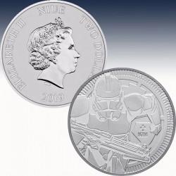 "1 x 1 Silbermünze 1$ Niue ""Star Wars..."