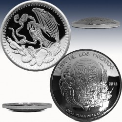 1 x 1 Oz Silverround Osborne Mint...