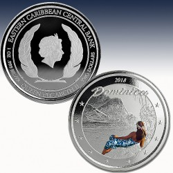 1 x 1 oz Silber 2$ Nature Isel...