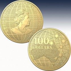 1 x 1 oz Goldmünze 100$ Australien...