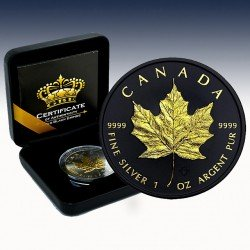 "1 x 1 oz Kanada 5$ ""Maple Leaf 2021""..."