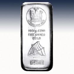 1 x 1000 Gramm Münzbarren 5$ Fiji...