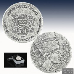 1 x 5 oz Silber 3.000 Francs Republic...
