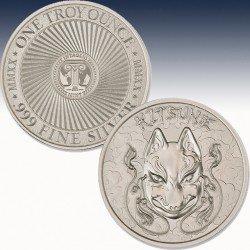 1 x 1 Oz Silverround Intaglio Mint...