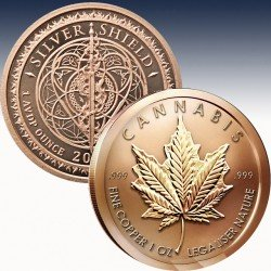 copy of 1 x 1 oz Copper Round Golden...