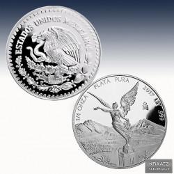 1 x 1/4 Oz Silber Mexico Libertad...