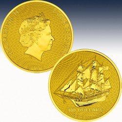 1 x 1 Oz Goldmünze 100$ Cook Islands...
