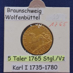 1 x 5 Taler Goldmünze...