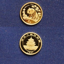 "1 x 1/20 Oz Goldmünze 20 Yuan ""China..."