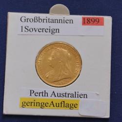 """1 x 1 Pound Großbritannien """"Sovereign..."""