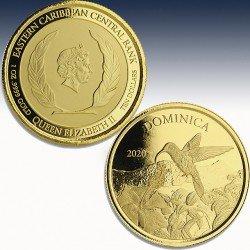 1 x 1 oz Goldmünze 10$ Nature Isel...