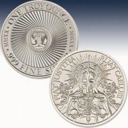 1 x 1 Oz Silverround Inaglio Mint...