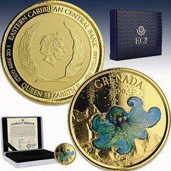 1 x 1 oz Goldmünze 10$ Grenada...