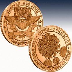 1 x 1 oz Copper Round Osborne...