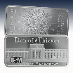 1 x 10 oz Silverbar Golden State Mint...