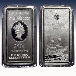 1 x 250g Silbermünzbarren 10Pfd St....