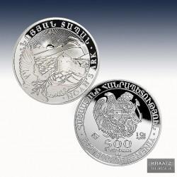 1 x 1 oz Silbermünze 500 Dram...