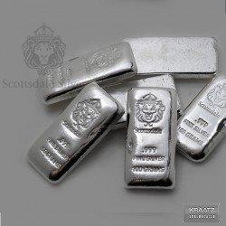 1 x 100 gramm Silberbarren Scottsdale...
