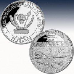 1 x 1 oz Silber 20 FRA Democratic...