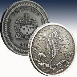 1 x 1 oz Silber 2$ Tala Samoa...