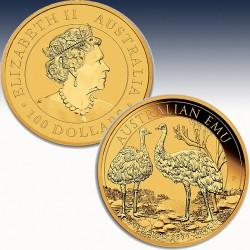 1 x 1 Oz Goldmünze 100$ Australien...