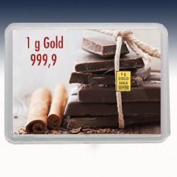 """1 x 1 Gramm Geschenkgoldbarren """"Gold..."""