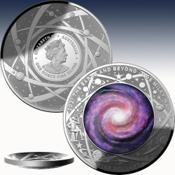 """1 x 1 oz Silber 5$ Australien """"Domed..."""