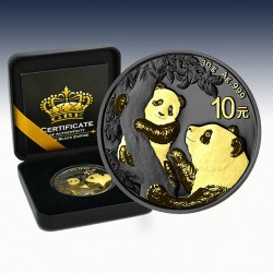 1 x 30 gramm 10 Yuan China Panda 2021...