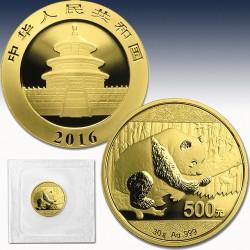 "1 x 30 Gramm Gold 500 Yuan ""China..."