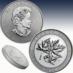 1 x 1,5 Oz Silber 8$ Maple Leaf...