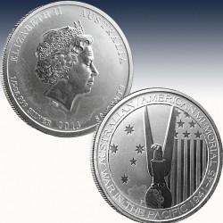 1 x 1/2 Oz Silbermünze 0,50$ Canada...