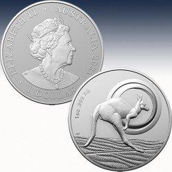 """1 x 1 oz Silber 1$ Australien """" RAM..."""