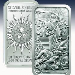 1 x 10 oz Silber Bar Golden State...