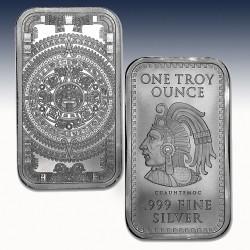 1 x 1 oz Silverbar Golden State Mint...