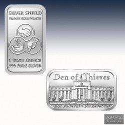 """1 x 1oz Silverbar """"Den of Thieves..."""