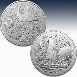 """1 x 1 Silbermünze 1$ Australien """"RAM..."""