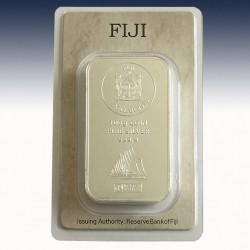 1 x 100 Gramm Münzbarren 1$ Fiji...