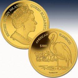 1 x 1 oz Gold 100$ British Virgin...