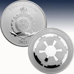 "1 x 1 Silbermünze 2$ Niue ""Star Wars..."