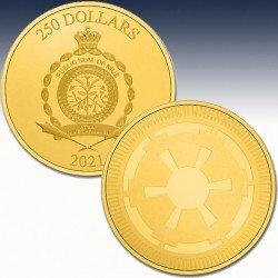 "1 x 1 oz Goldmünze 250$ Niue ""Star..."