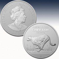 1 x 1 oz Silber 1$ Australien...
